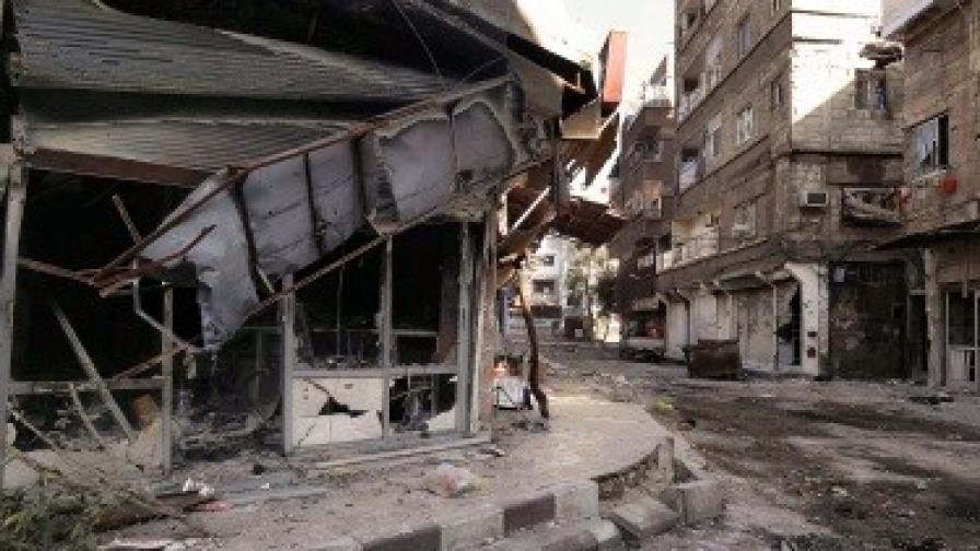 Сирия през 2012 г.: от революция до тотална война