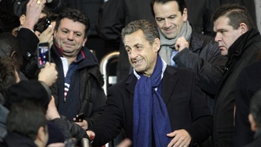 Нови твърдения, че Кадафи е финансирал Саркози