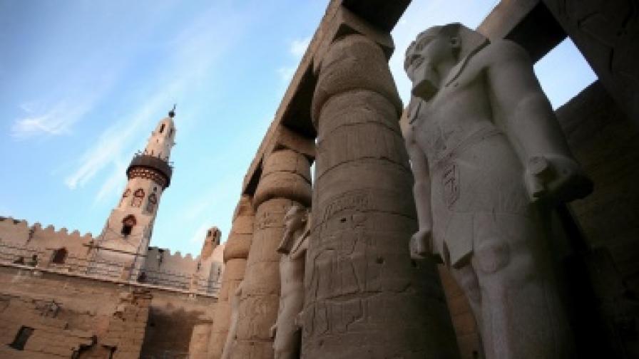 Откриха най-старата известна рисунка на фараон