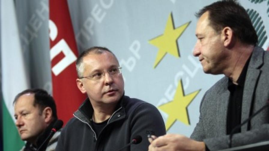 Станишев: Управлението на ГЕРБ е шизофренно
