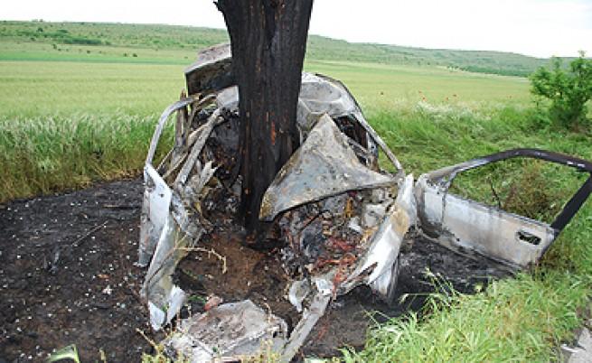 Катастрофите у нас през 2012 г. - загуба на контрол и челни удари