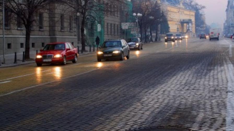 През 2013 г. подменят паважа в София с асфалт