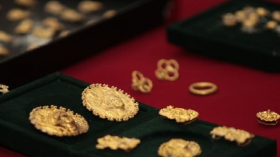 Посланик Марси Рийс се надява златното съкровище от Свещари да бъде показано в САЩ