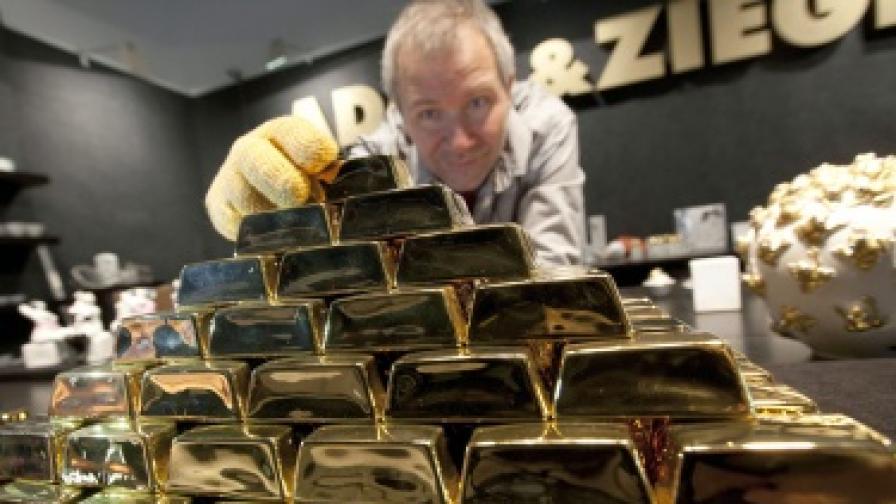 Германия прибира златните си резерви