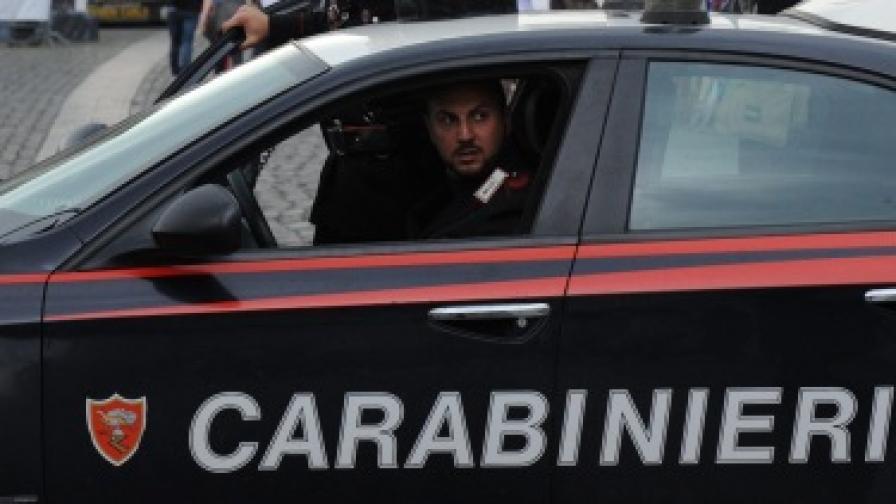 В Италия арестуваха българин, главен снабдител на банда за наркотрафик