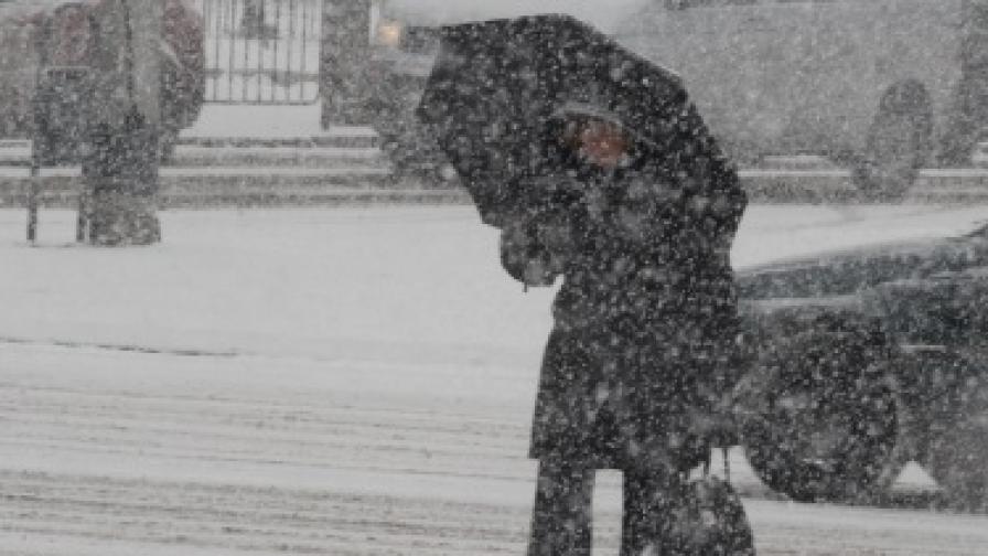 Полетите между Франкфурт и България отменени заради много сняг