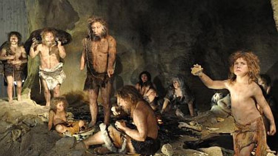 Неандерталска група (реконструкция)