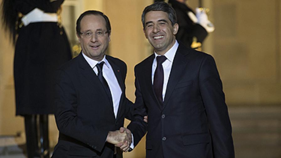 Плевнелиев: Очаквам 1 млрд. евро френски инвестиции