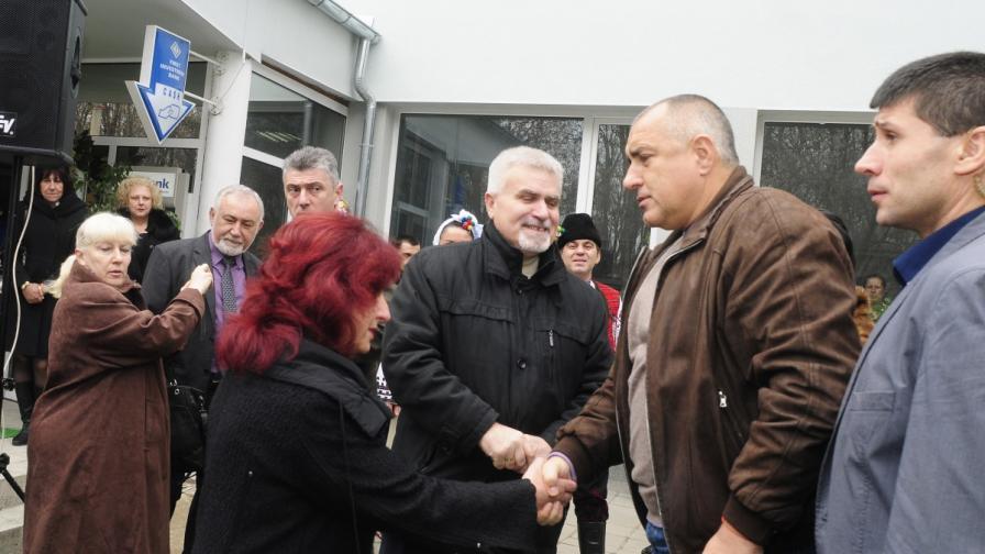 Премиерът Бойко Борисов в Разград: Не се ли работи - пари няма