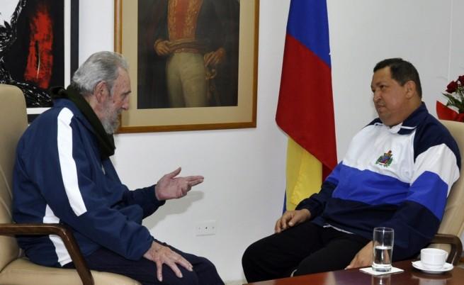 Кастро: Състоянието на Чавес се подобрява