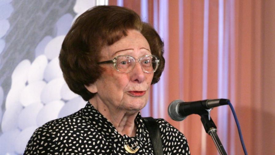 На 93 години почина Леда Милева