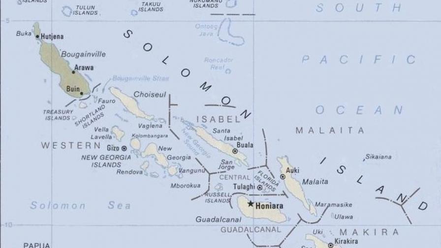 Мощно земетресение и цунами в Тихия океан