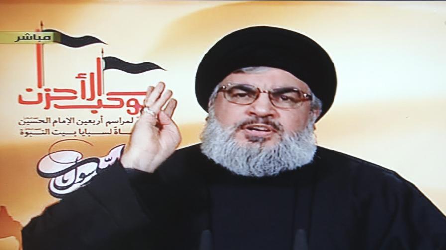 """Лидерът на """"Хизбула"""" Хасан Насрала"""