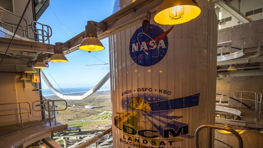 """НАСА изведе в орбита спътника """"Лендсат"""""""
