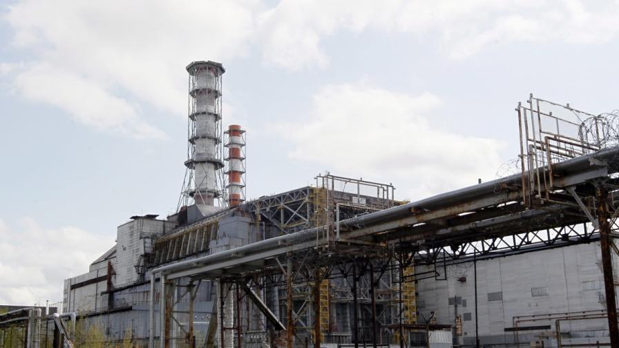 """Покрив се срути в АЕЦ """"Чернобил"""", няма изтекла радиация"""