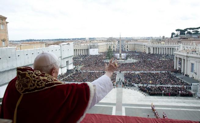 Как се кръщава папа?
