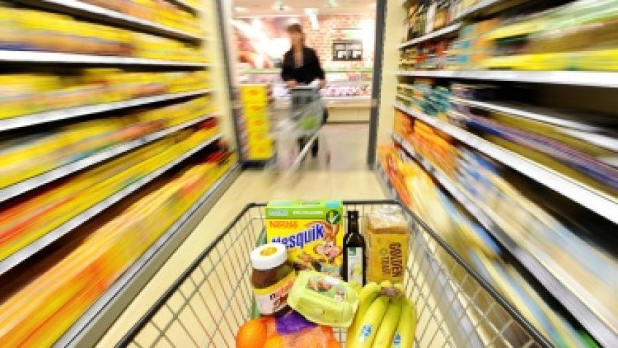 Цените на храните движат инфлацията през януари