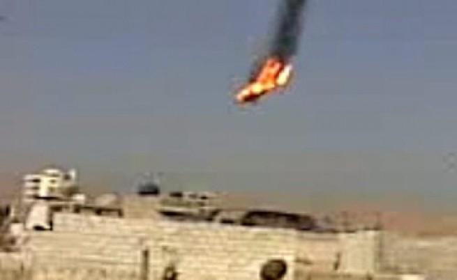 Сирийските бунтовници свалиха два самолета на армията