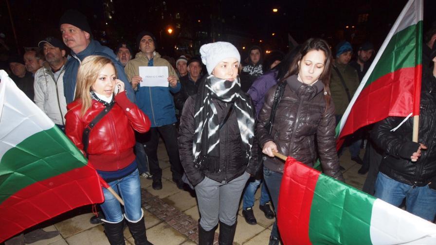 5 дни арест за протестиращия с газовия спрей