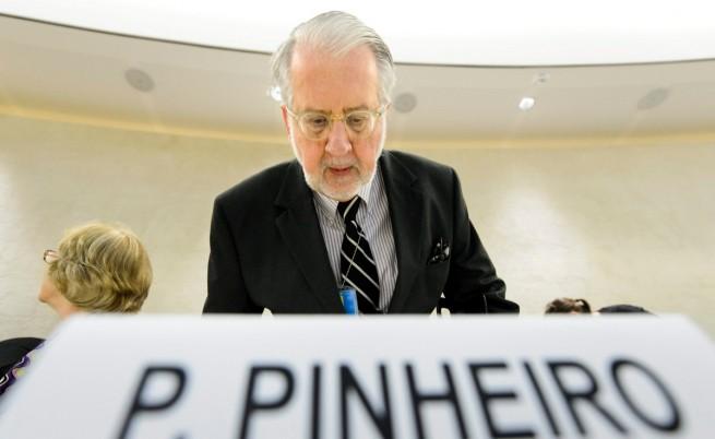 Международният наказателен съд трябва да се намеси в Сирия