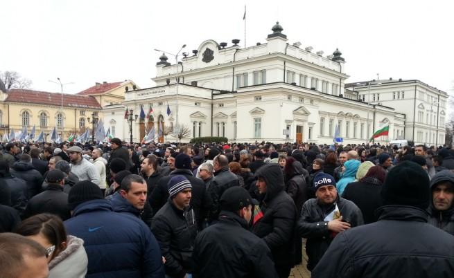 Борисов прикани протестиращите да си отидат по домовете