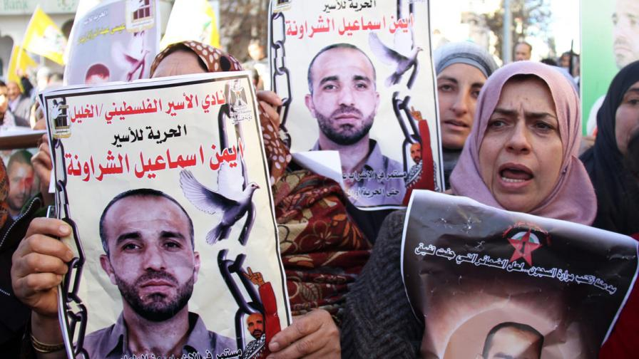 3000 палестинци в израелски затвори обявиха гладна стачка