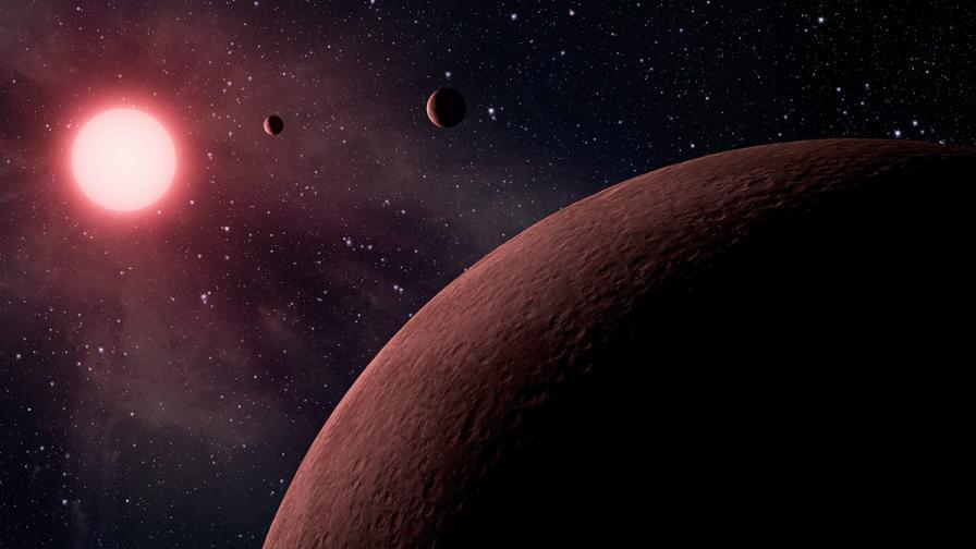 Марс може да се сблъска с комета през 2014