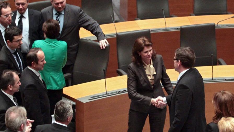 И словенското правителство падна