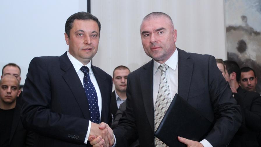 Янев и Марешки правят коалиция - фотография от 4 ноември 2012 г.
