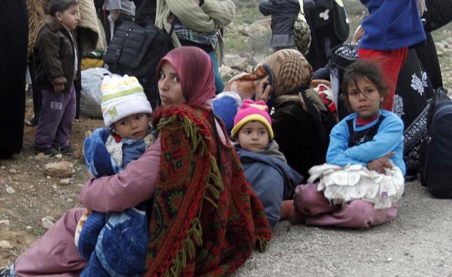 Броят на сирийските бежанци достигна 1 милион