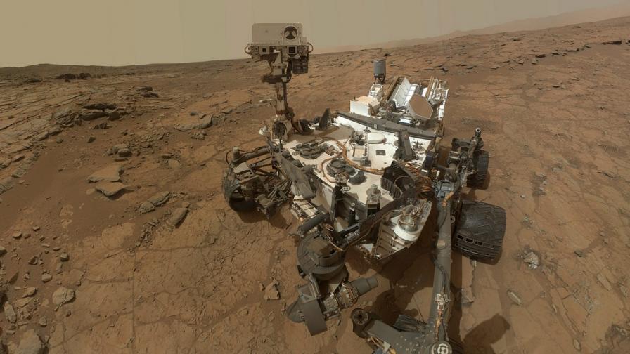"""НАСА временно """"приспа"""" космическия апарат """"Кюриосити"""""""