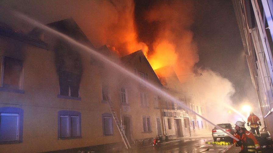 Майка и шестте й деца загинаха при пожар в Германия