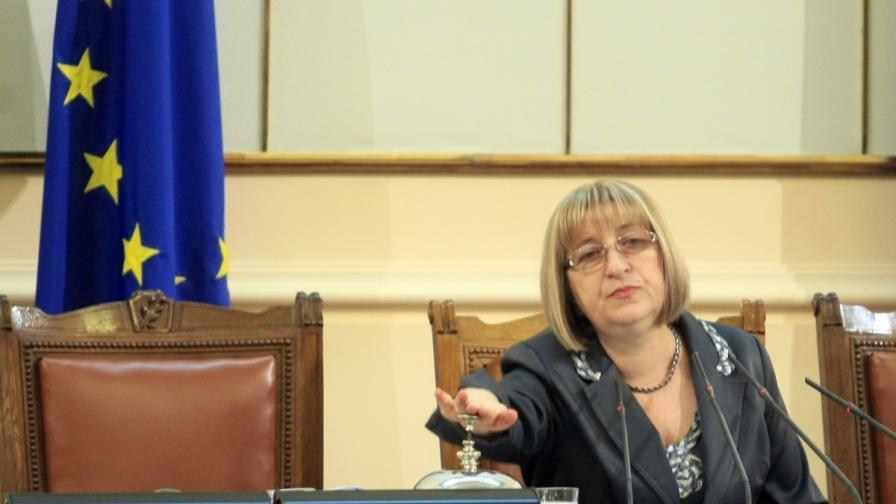 Цачева: Парламентът ще бъде разпуснат вероятно на 14 или 15 март