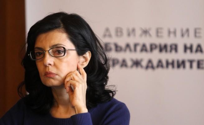 Меглена Кунева: Хората приемат с облекчение, че си отива предишното правителство