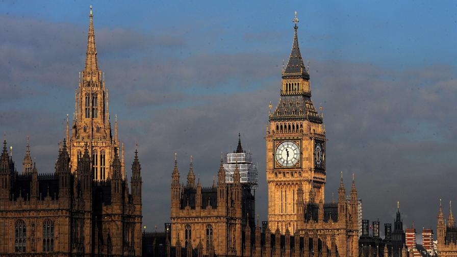 Парламентът в Лондон