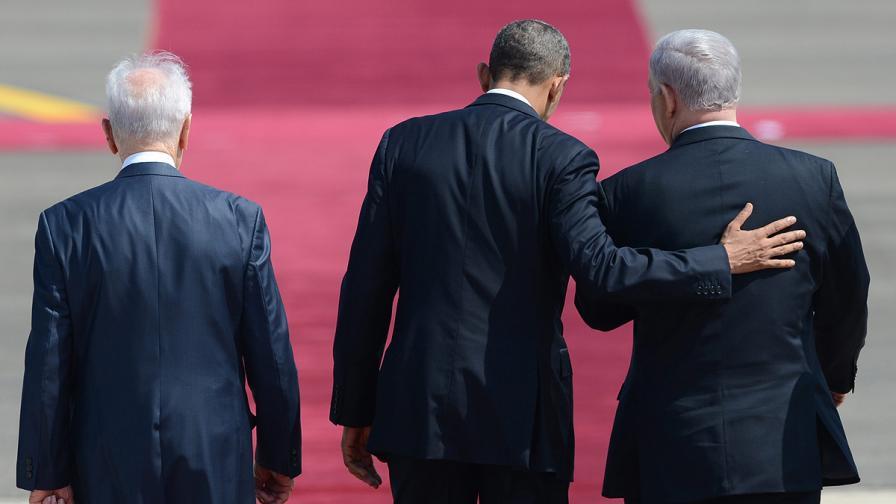 Обама в Израел: Интересите ни диктуват да ви защитим