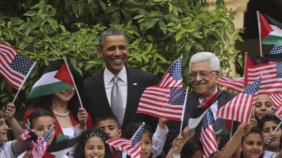 САЩ готвели план за Израел и Палестина