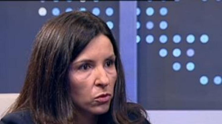 Илияна Цанова - заместник министър-председател и министър по управление на средствата от Европейския съюз в състава на служебното правителство на Марин Райков