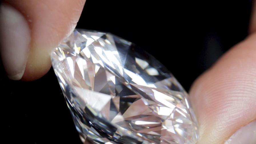 Скален къс с 30 хил. диаманта откриха в Русия