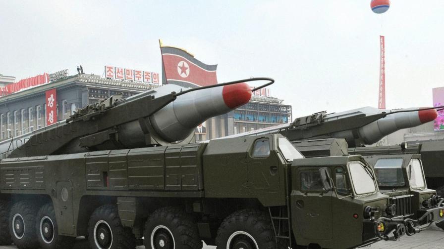 КНДР отговори на американската ПРО с ракета
