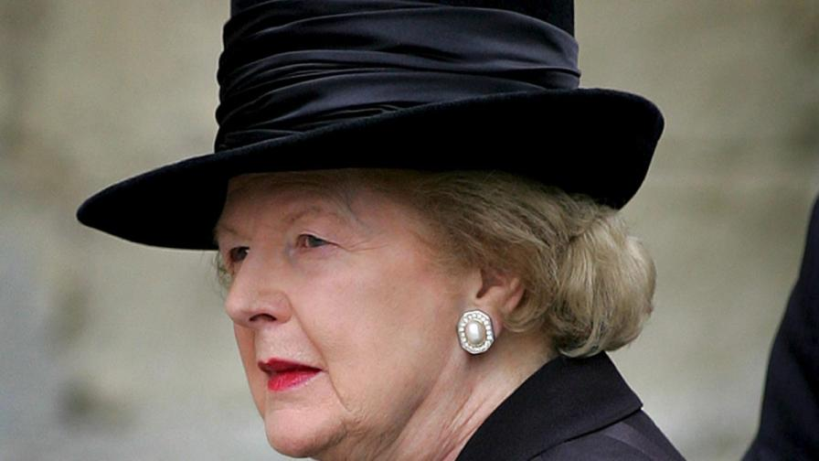 Маргарет Тачър далеч от политиката, в крак с модата