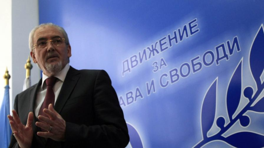 Лидерът на ДПС Лютви Местан