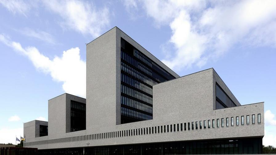 """Главната квартира на """"Европол"""" в Хага, Холандия"""