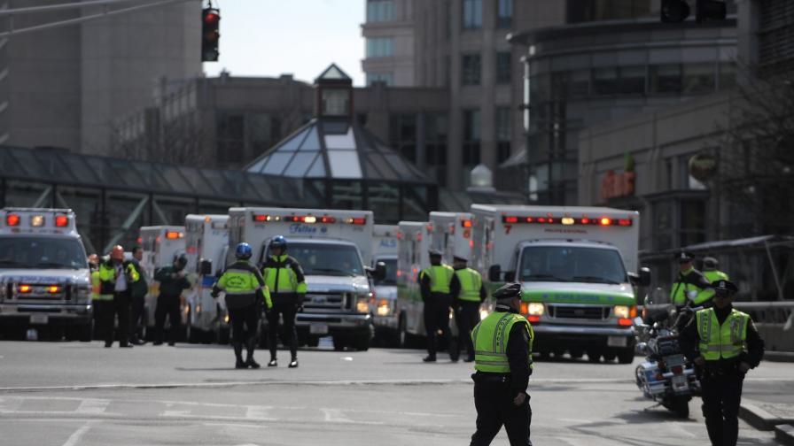 Експлозии на маратона в Бостън, има жертви