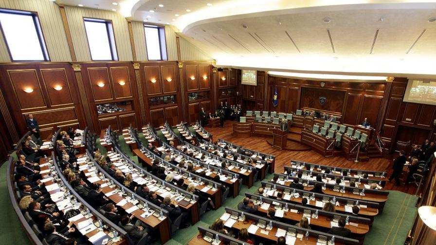 Косовският парламент одобри създаването на трибунал за военни престъпления