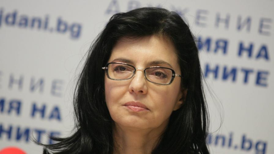 Меглена Кунева: БСП унижава България в Европейския съюз