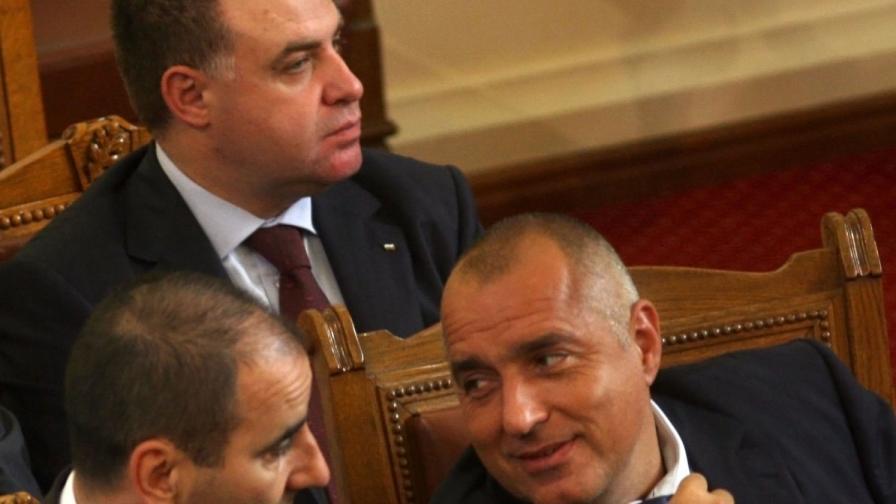 Записи на Борисов, Найденов и Кокинов в медиите