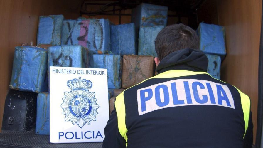 Голям удар срещу наркотрафика в Испания