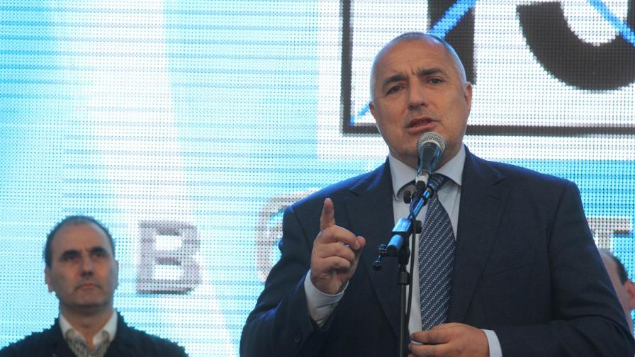 Борисов: Цветанов е силен, когато аз съм силен