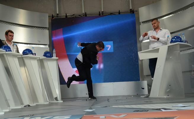 Яйца и чаша завихриха скандал между Бареков, ТВ7 и ГЕРБ